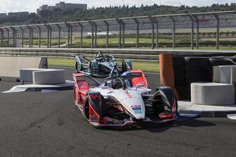 Jérôme d'Ambrosio, Mahindra Racing, M5 Electro, Mitch Evans, Panasonic Jaguar Racing, Jaguar I-Type 3