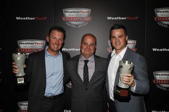 I vincitori TPNAEC Joey Hand, Mike O'Gara, Dirk Müller
