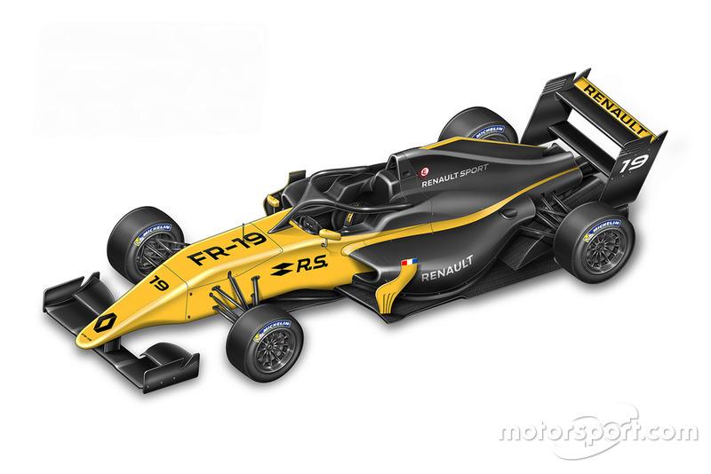 Автомобиль Formula Renault Eurocup 2019 года