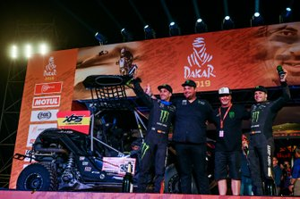 Podium : Monster Energy Can-Am: Gerard Farres Guell, Daniel Oliveras Carreras