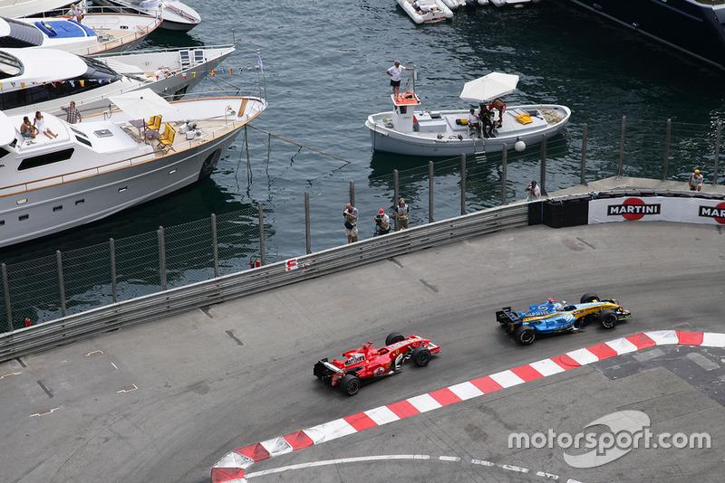 Gran Premio de Mónaco 2006, EL INCIDENTE EN RASCASSE