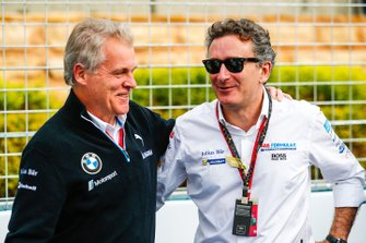 Alejandro Agag, CEO, Formula E on the grid