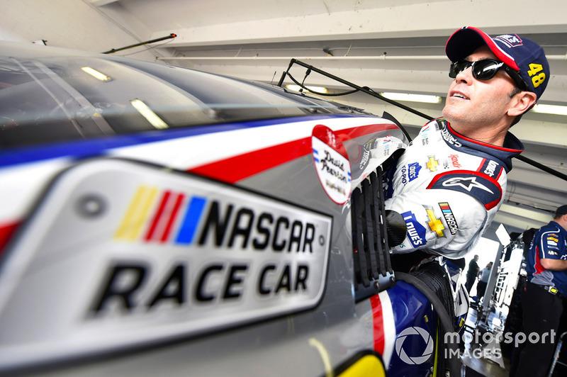 Jimmie Johnson, Hendrick Motorsports, Chevrolet Camaro Lowe's Rookie Throwback