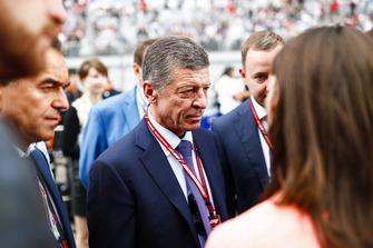 Dmitry Kozak, Deputy Prime Minister of Russia, on the grid