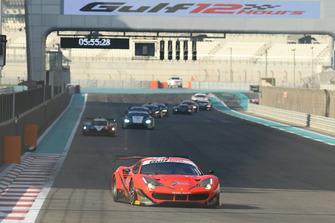 #11 Kessel Racing Ferrari 488 GT3: Michael Broniszewski, Davide Rigon, Alessandro Pierguidi