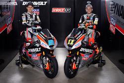Marcel Schrötter, Dynavolt Intact GP; Sandro Cortese, Dynavolt Intact GP