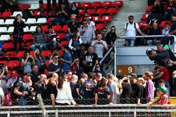 Даніель Ріккардо, Red Bull Racing, підписує автографи уболівальникам