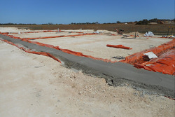 Bend Motorsport Park road circuit construction