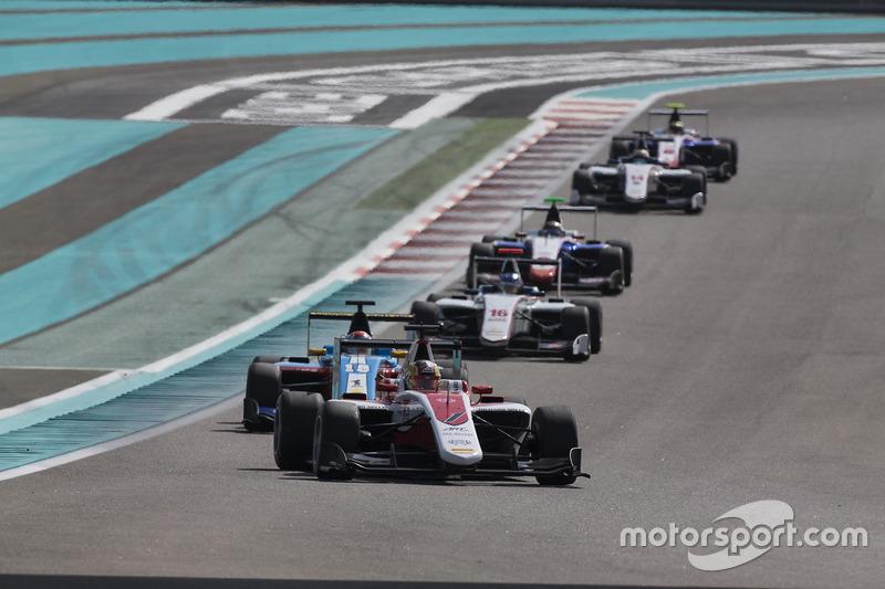 Charles Leclerc, ART Grand Prix y Akash Nandy, Jenzer Motorsport