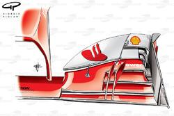 Ferrari F138 front wing, Italian GP