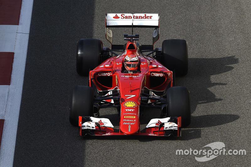 Kimi Räikkönen, Ferrari, testet Pirelli-Reifen für 2017