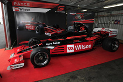 Super5000 car on display at Sandown