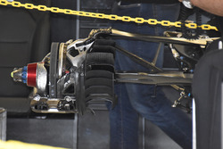 Задні гальма Mercedes AMG F1 W08