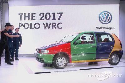 Testfahrten: Volkswagen Polo R WRC 2017
