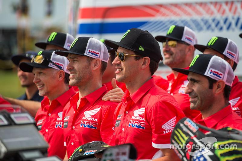 Todos los pilotos de Monster Energy Honda Team