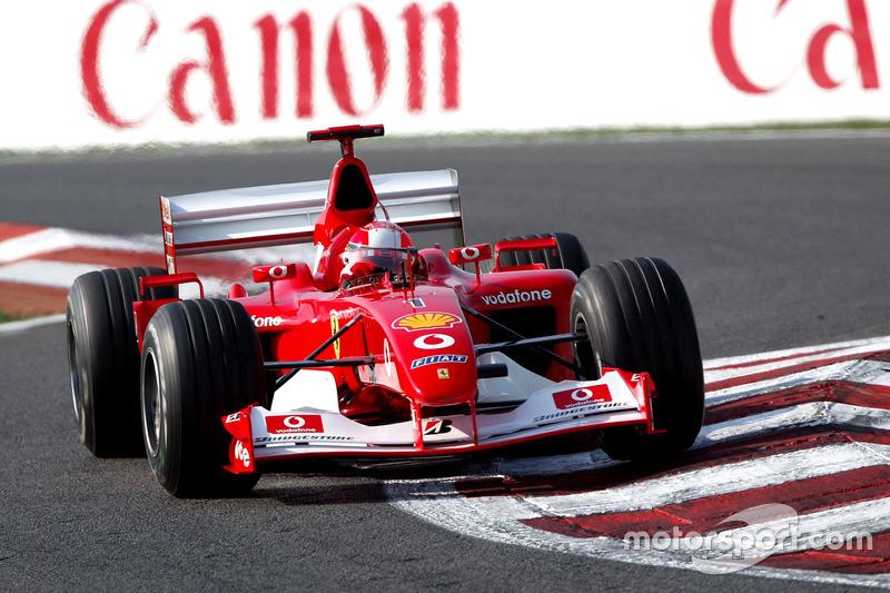 1. 2002 - Michael Schumacher, Ferrari (84,7%)