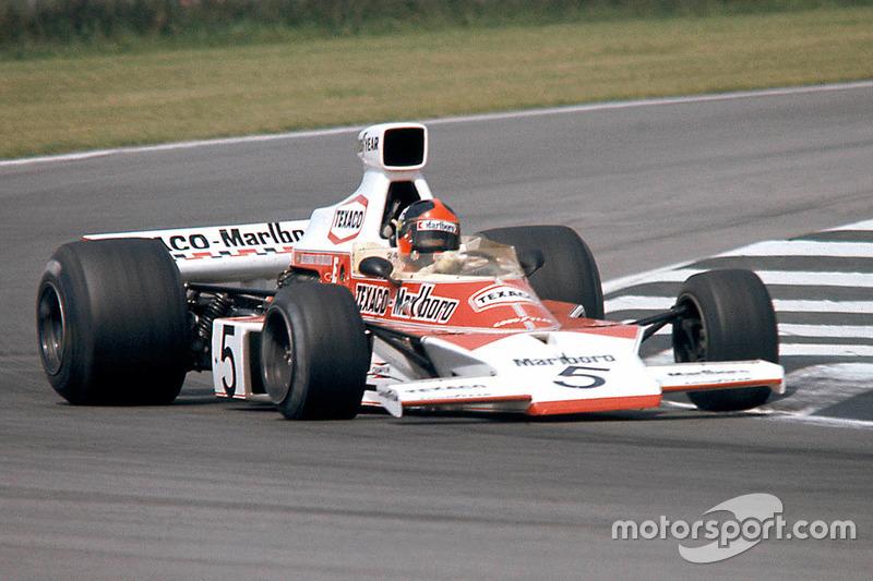 1973-1977: McLaren M23 Ford-Cosworth