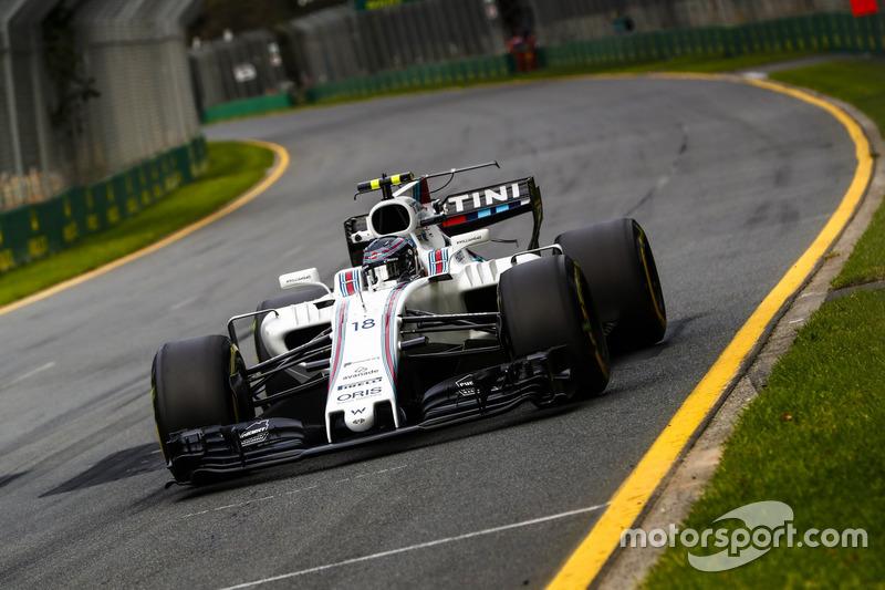 2017 год: Лэнс Стролл, Williams FW40 Mercedes