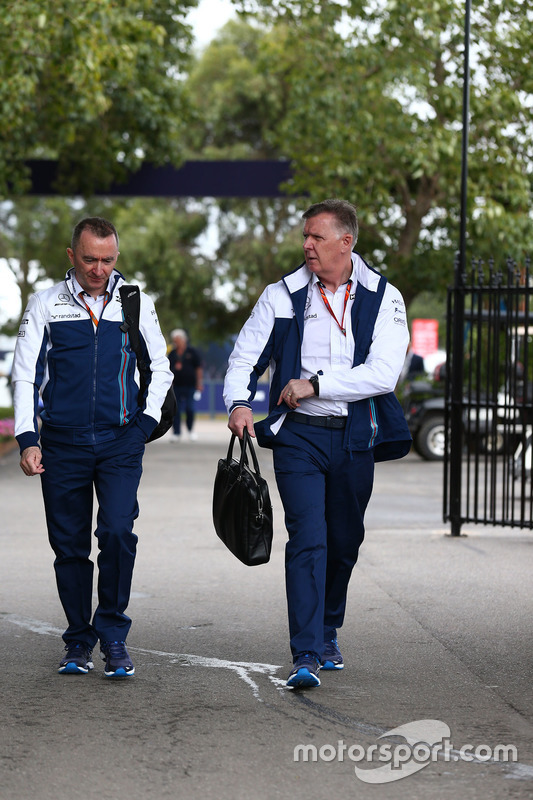 Paddy Lowe, Williams-Technikchef