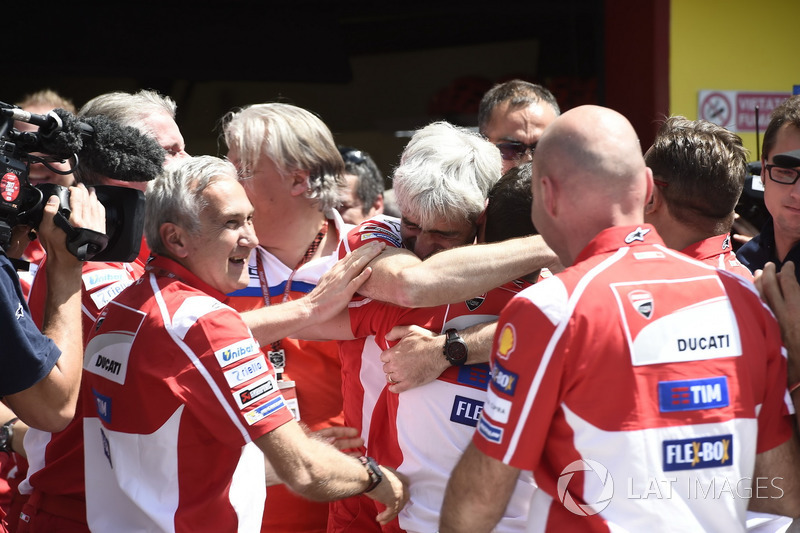 Джіджі Далл'Інья, генеральний директор Ducati Team