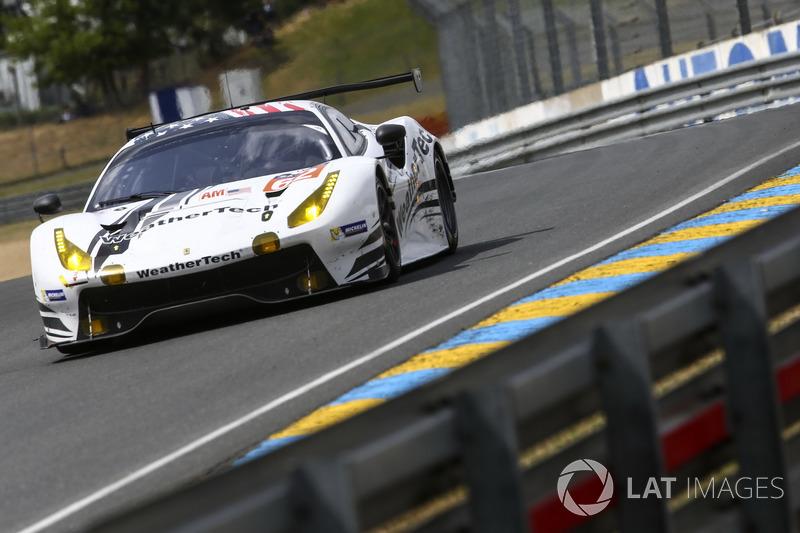 2. LMGTE-Am: #62 Scuderia Corsa, Ferrari 488 GTE