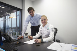 Valtteri Bottas, Mercedes, Toto Wolff, Director ejecutivo del equipo