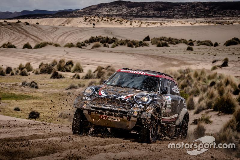 #306 X-Raid Team Mini: Yazeed Al-Rajhi, Timo Gottschalk