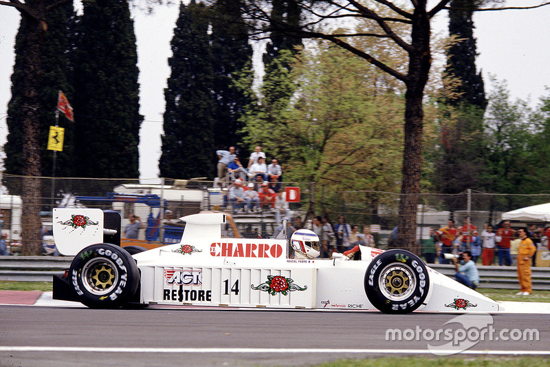 #14: Pascal Fabre, AGS JH22, Cosworth