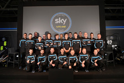 Sky Racing Team VR46 drivers group photo
