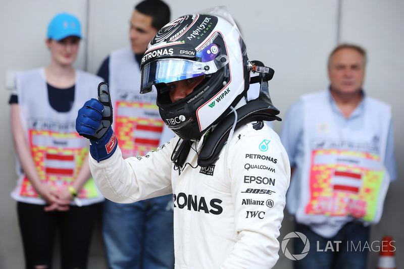 Pole: Valtteri Bottas, Mercedes AMG F1