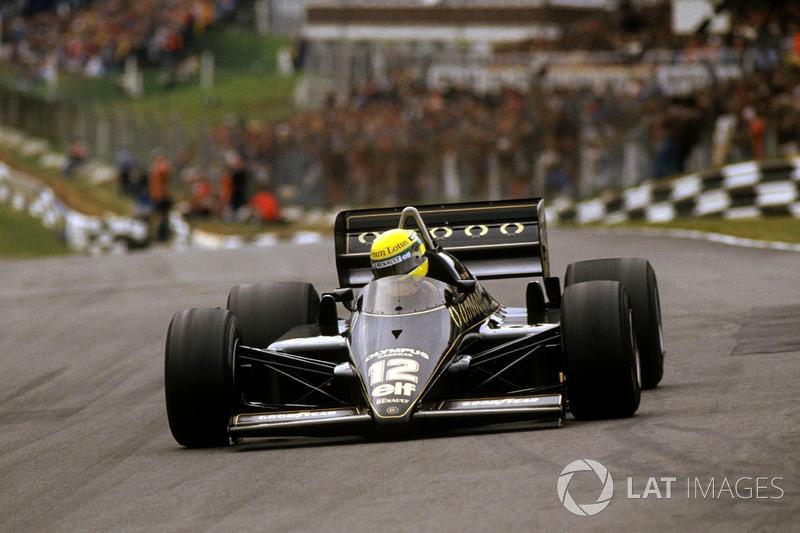 21. Європа-1985, Брендс-Хетч: Айртон Сенна, Lotus 97T - 1.07,169