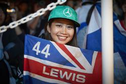 A fan of Lewis Hamilton, Mercedes AMG F1