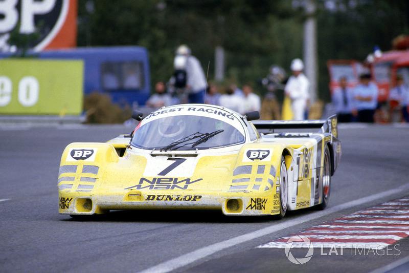 "1985: Klaus Ludwig, Paolo Barilla, ""John Winter"", Porsche 956"
