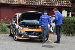 Christian Zimmermann, Opel Corsa OPC, Flammer Speed Team, Technische Kontrolle