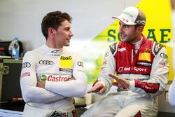 Лоік Дюваль, Audi Sport Team Phoenix, Audi RS 5 DTM та Майк Роккенфеллер, Audi Sport Team Phoenix, Audi RS 5 DTM