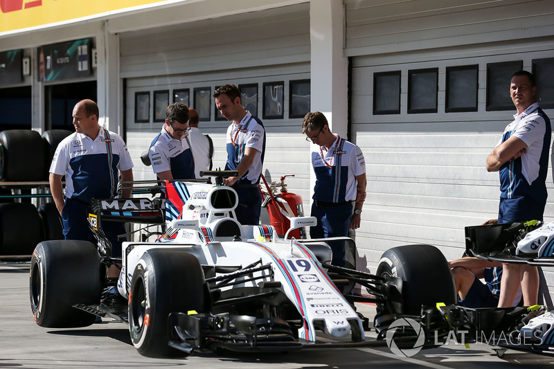 Механіки Williams, Williams FW40 Феліпе Масси
