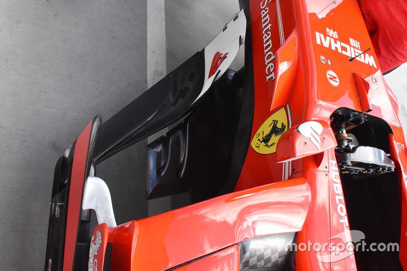 Pontons de la Ferrari SF70H