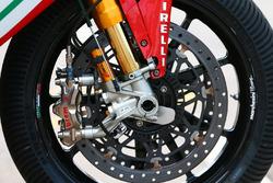 Bremse am Bike von Leon Camier, MV Agusta