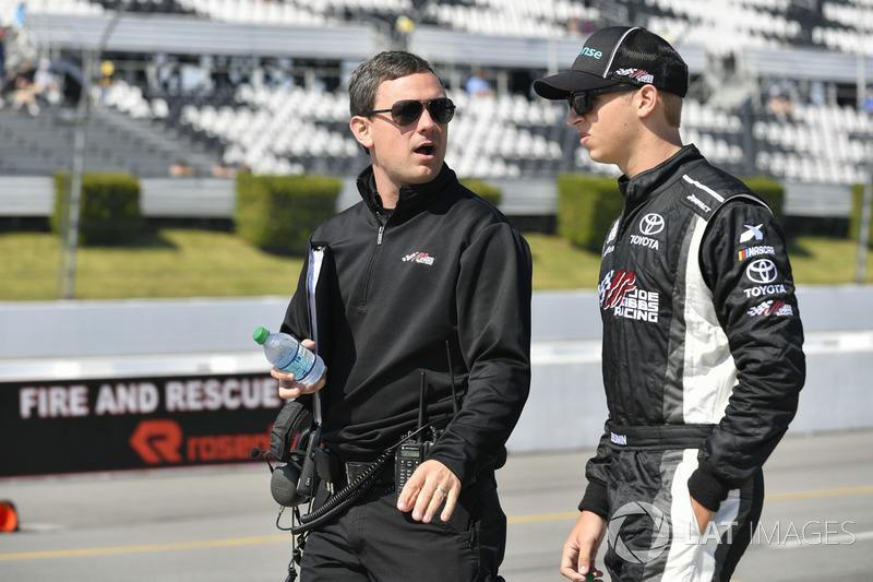 Christopher Gabehart, Kyle Benjamin, Joe Gibbs Racing Toyota