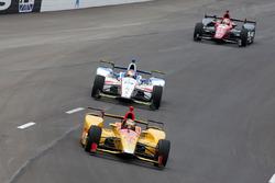 Райан Хантер-Рей, Andretti Autosport Honda, и Эд Джонс, Dale Coyne Racing Honda