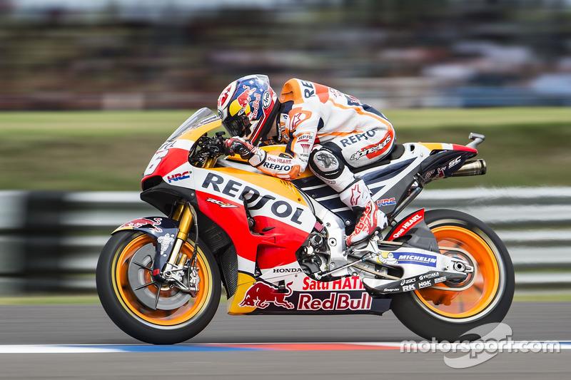 Dani Pedrosa, Repsol Honda Team, prova la partenza