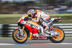 Дані Педроса, Repsol Honda Team, тренує старт
