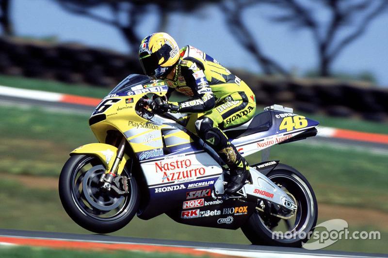 Valentino Rossi, 2000 Honda NSR500