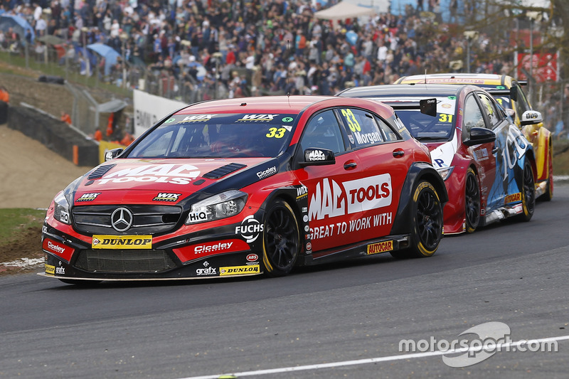 Adam Morgan, Ciceley Motorsport with Mac Tools, Mercedes Benz A-Klasse