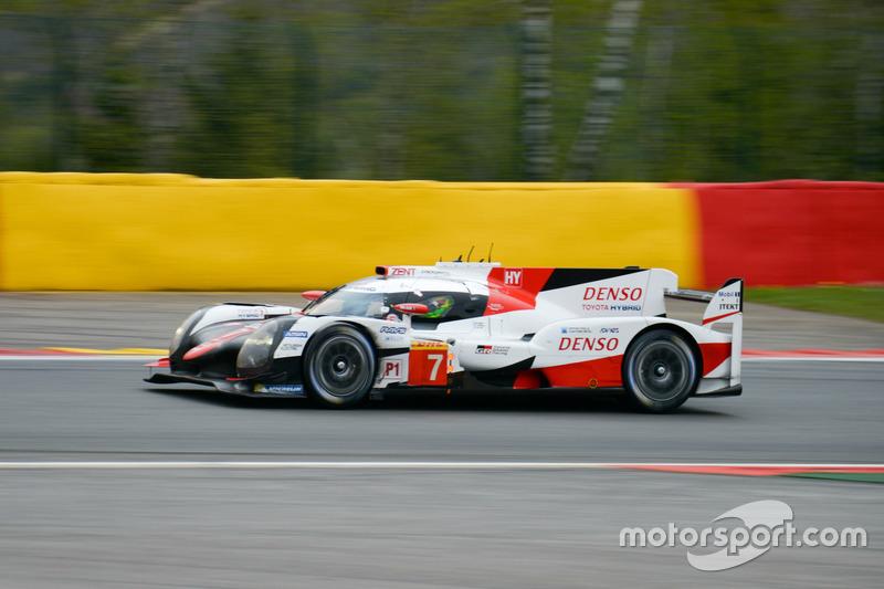 #7 Toyota Gazoo Racing Toyota TS050 Hybrid: Mike Conway, Kamui Kobayashi