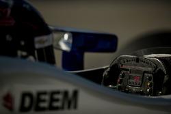 J.R. Hildebrand, Ed Carpenter Racing Chevrolet, steering wheel
