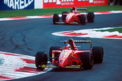Jean Alesi, Ferrari 412T2, Gerhard Berger, Ferrari 412T2
