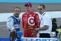 Tony Kanaan, Scott Dixon, Chip Ganassi Racing Chevrolet