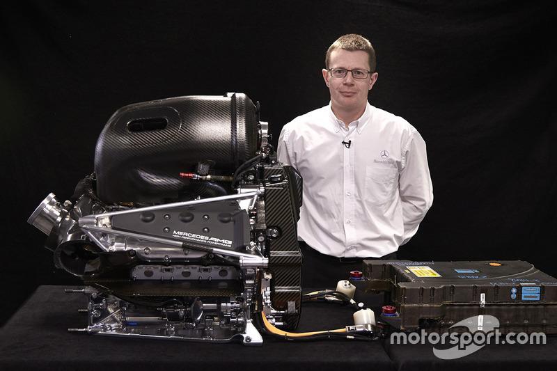 Энди Коуэлл с двигателем Mercedes PU106-Type Hybrid