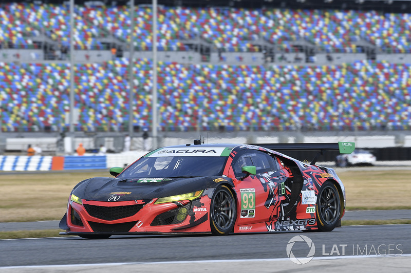 #93 Michael Shank Racing Acura NSX, GTD: Lawson Aschenbach, Justin Marks, Mario Farnbacher, Côme Ledogar